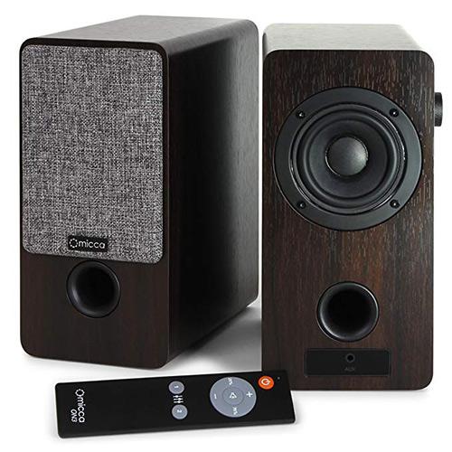 Mica ON3 bookshelf speaker computer speaker review