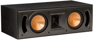 The Klipsch RC-42 II Black Center Speaker