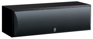 The Yamaha Black NS-C210BL Center Channel Speaker