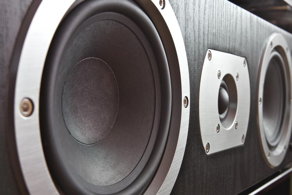 Center speaker close-up