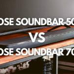 bose soundbar 500 vs bose soundbar 700