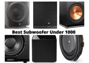 Best Subwoofer Under 1000 in 2021 – Reviews & Buyers Guide